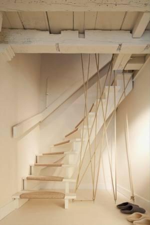 Quel style de rampe pour mes escaliers flexibul d coration - Escalier contremarche peinte ...